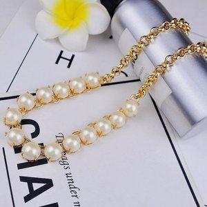 Kate Spade Pearl Gemstone Necklace